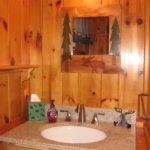 Lingering Pines vanity