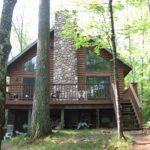 Arbor's back deck