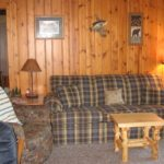 Grazian's Lake View Cabin living room