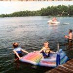 Lingering Pine's dock